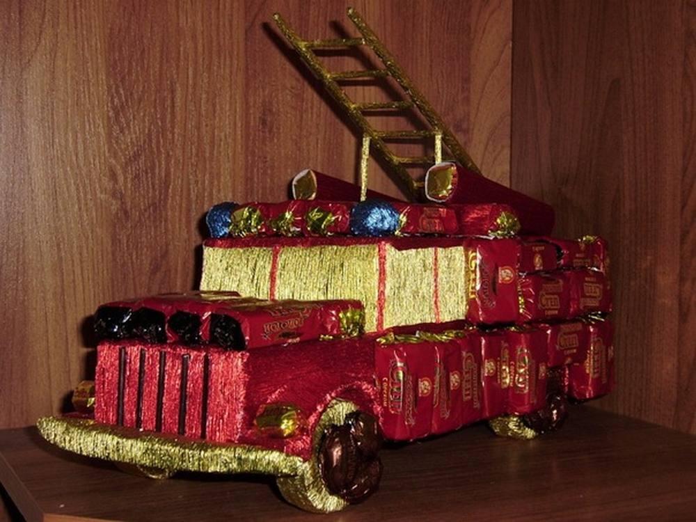 Пошаговое машины из конфет